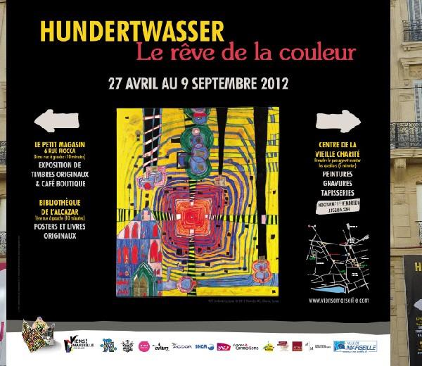 Exposition Hundertwasser 2012