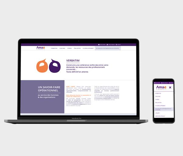 Webdesign pour un Cabinet de Conseil